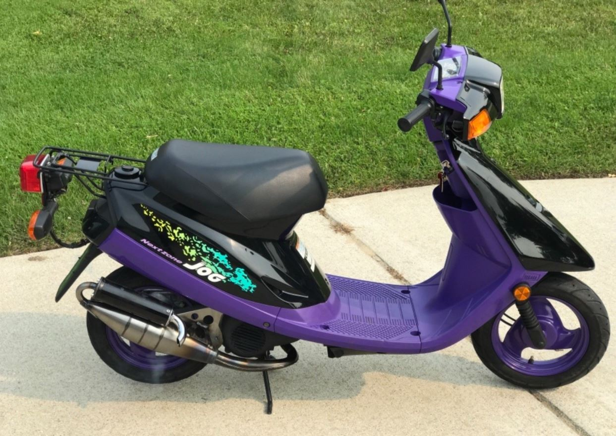 Обзор скутера Yamaha Jog