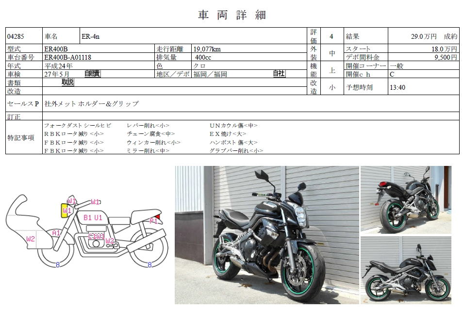 Kawasaki ER-4 (ER-4N, ER-4F, Ninja 400R)
