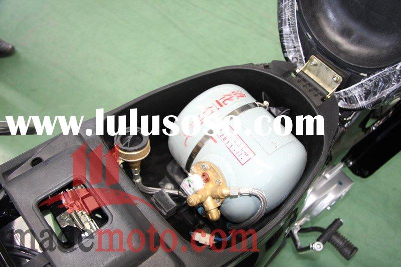 Установка газовой аппаратуры на мотоцикл или скутер