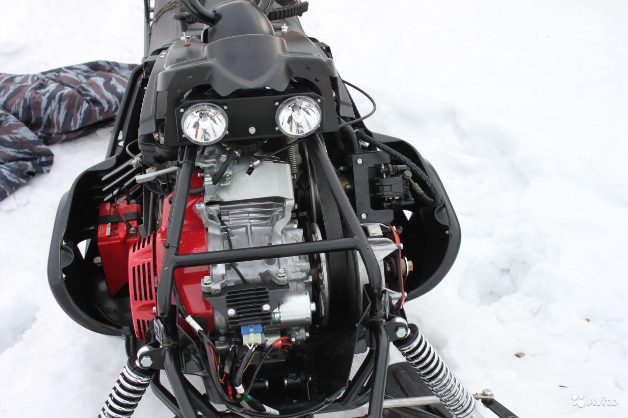 Снегоход Каюр — бюджетный снежный скутер