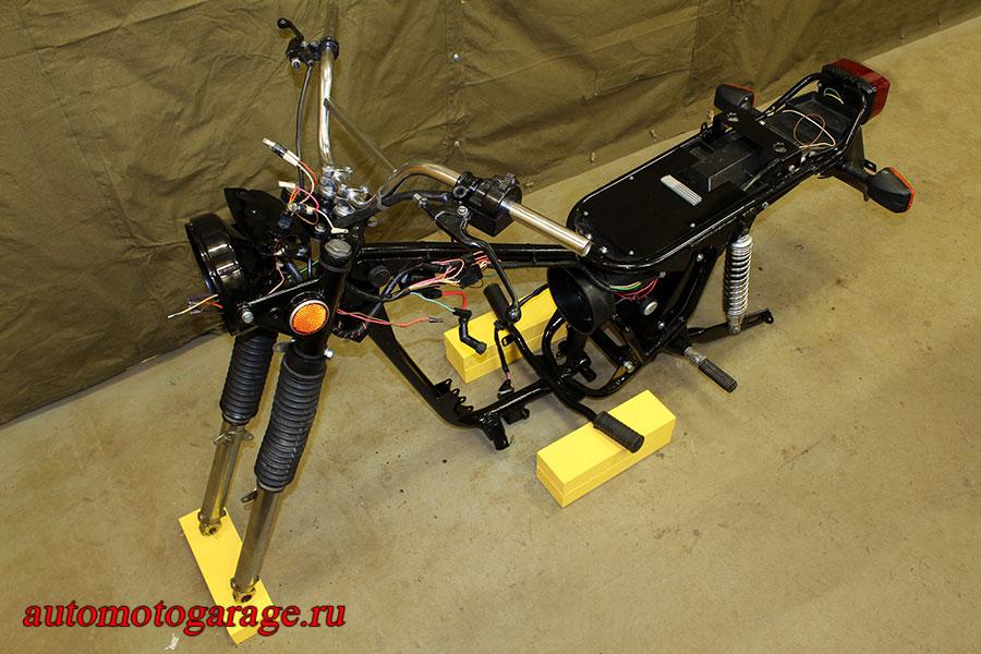Мотоцикл «Сова» — новый образ «Восхода»