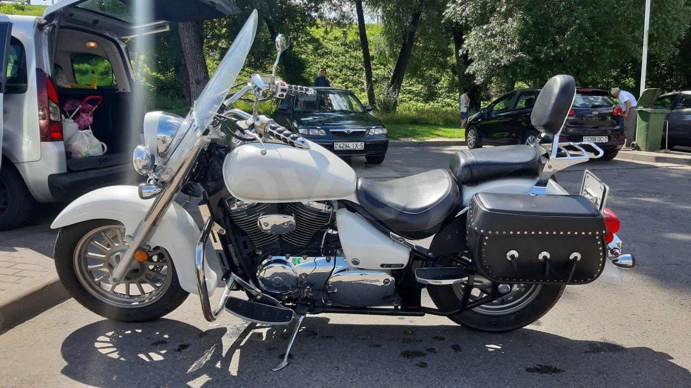 Мотоциклы с объемом двигателя 800 см³