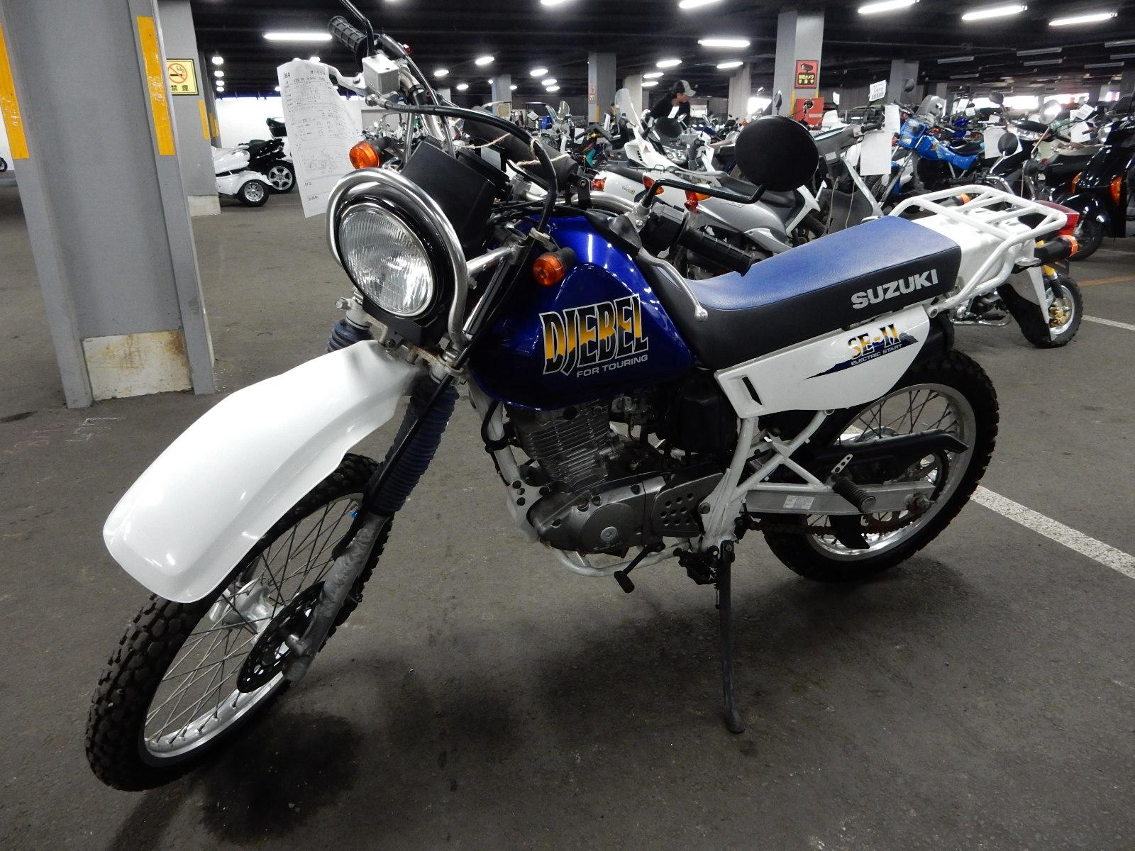 Тест-драйв мотоцикла Suzuki Djebel 250