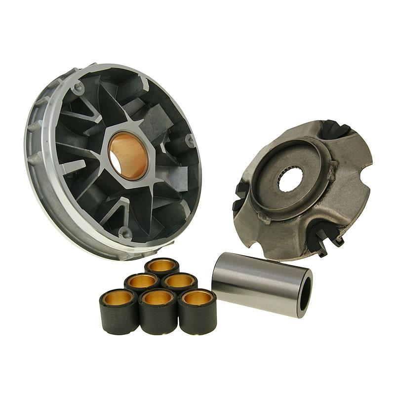 Стандартные размеры и вес роликов вариатора для скутеров Piaggio