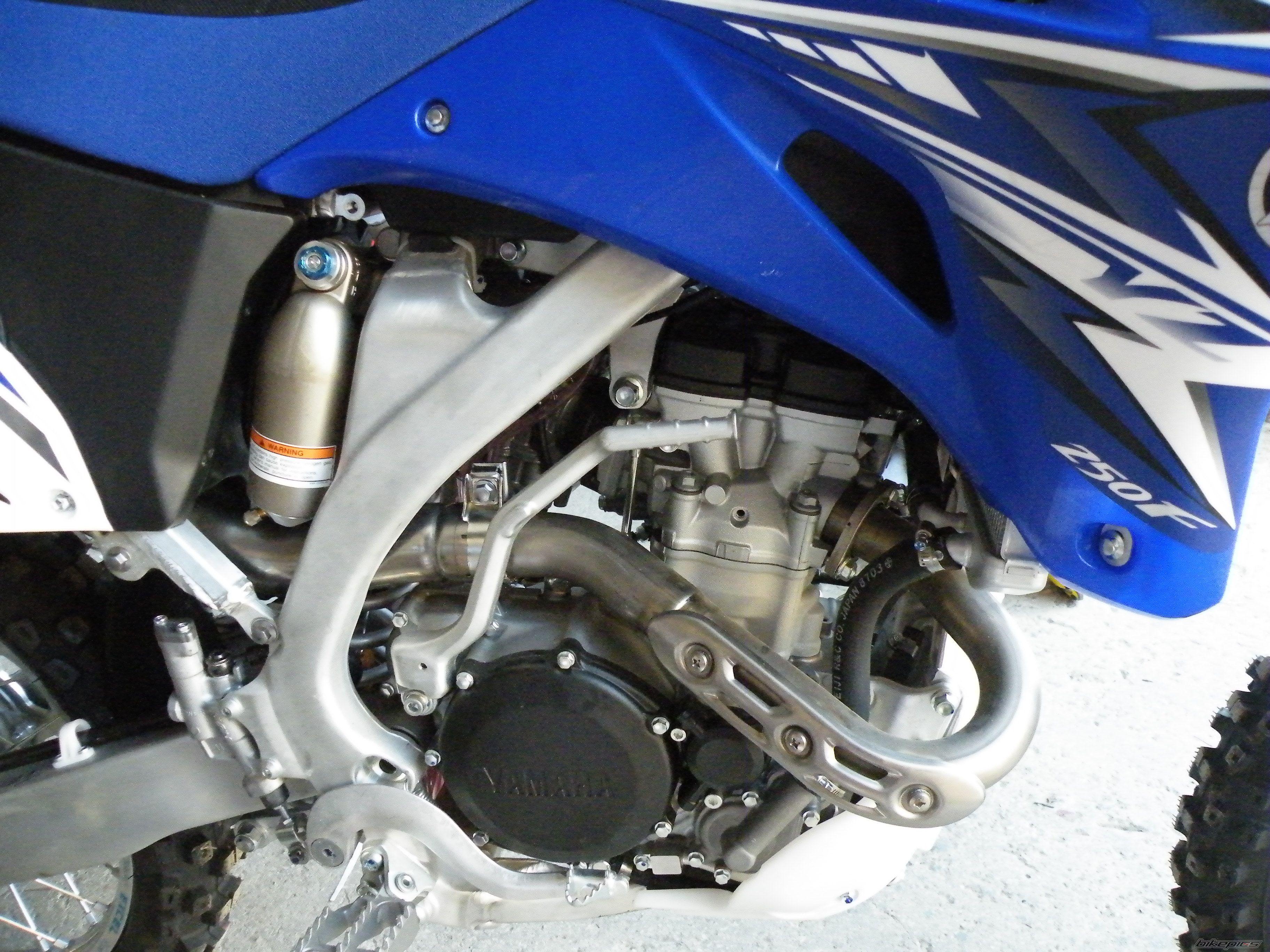 Тест-драйв мотоцикла Yamaha YZ250F