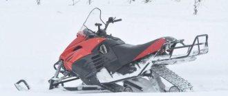 Обзор 2-ух гусеничного снегохода «Шихан»