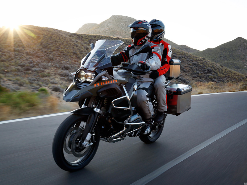 Лучшие мотоциклы для туризма
