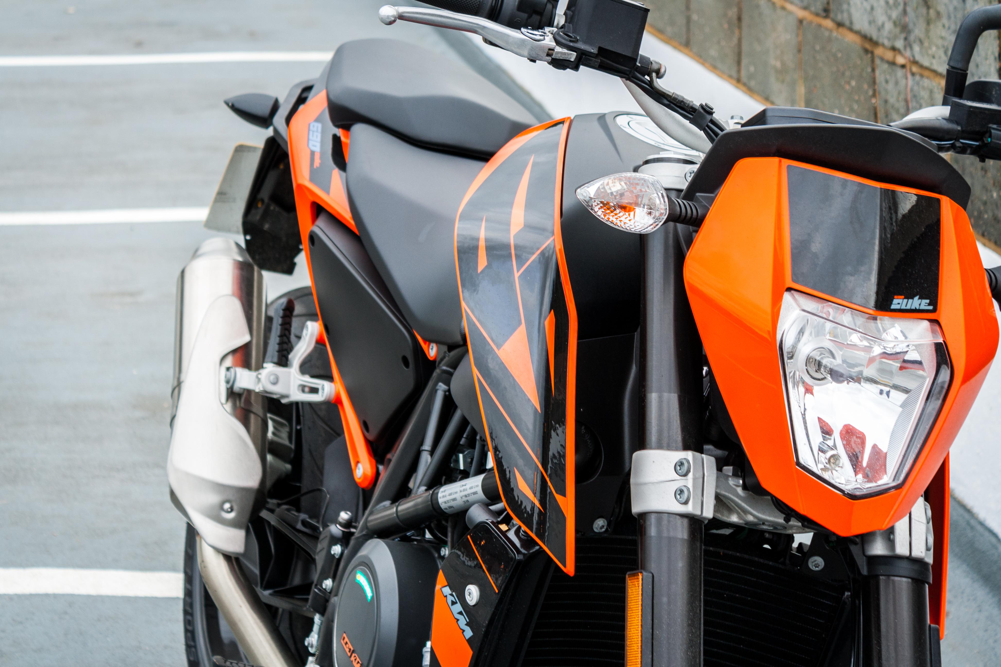 KTM 690 Duke: идеальная сбалансированность во всём