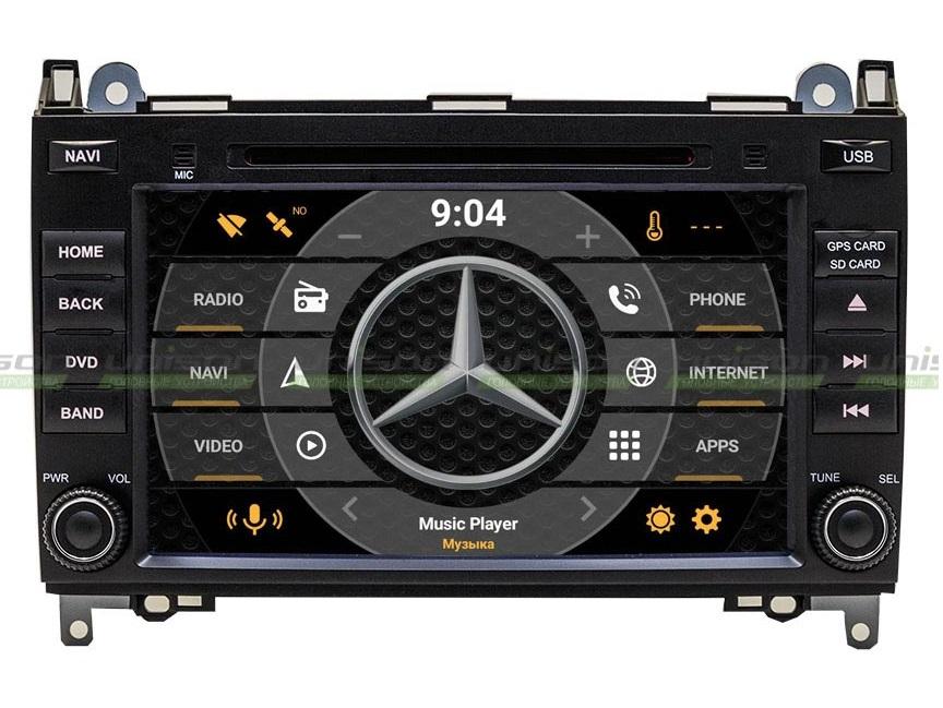 Автомагнитолы Mercedes Sprinter – возможно всё