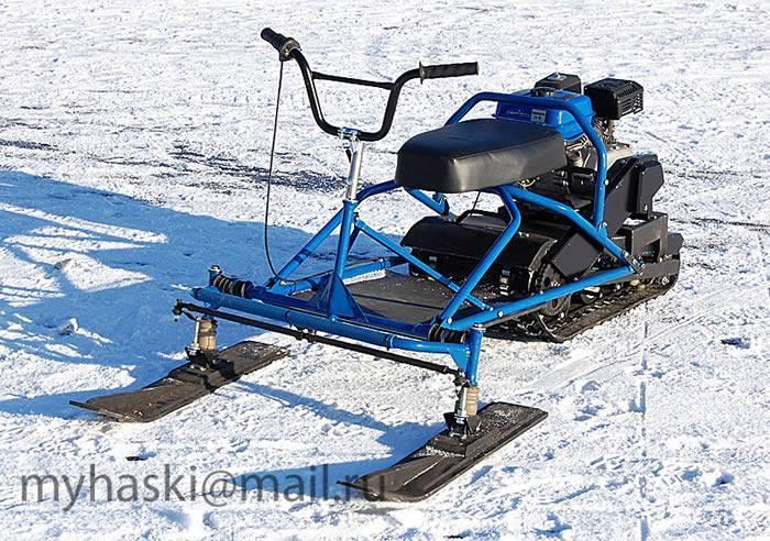 Мини снегоходы трансформеры и их характеристики