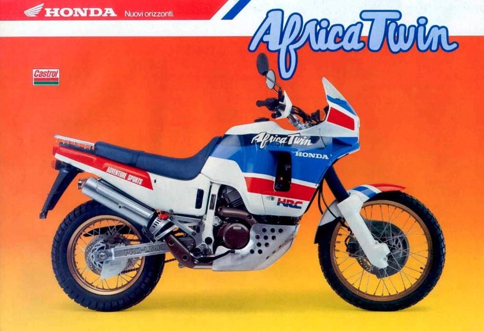 Мануалы и документация для Honda XRV 750 Africa Twin