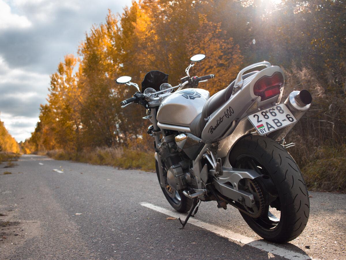 Тест-драйв мотоцикла Suzuki GSF600 Bandit