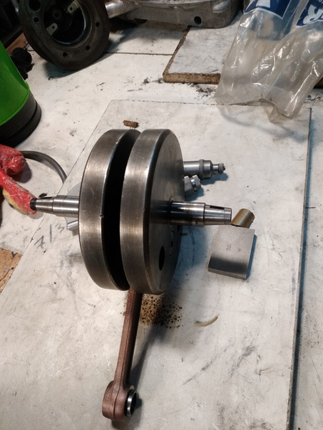 Как отремонтировать коленвал мотоцикла, чтобы намного увеличить его ресурс