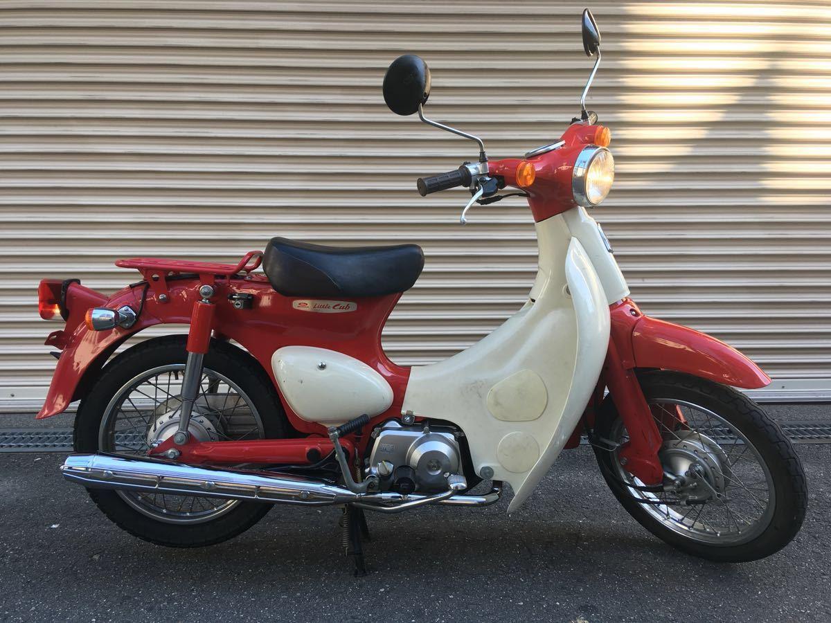 Honda Little Cub Special – легендарная классика в ограниченной серии
