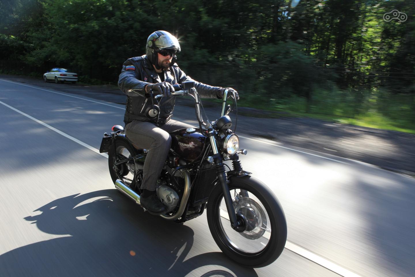 Тест-драйв мотоцикла Kawasaki W800