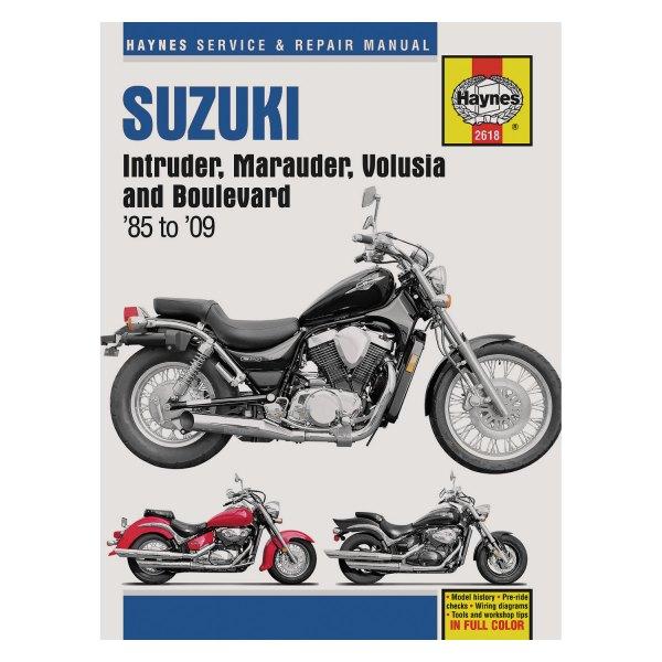 Мануалы и документация для Suzuki VZ1600 Marauder (Boulevard M95, Intruder M1600)