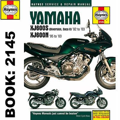 Мануалы и документация для Yamaha XJ600 Diversion