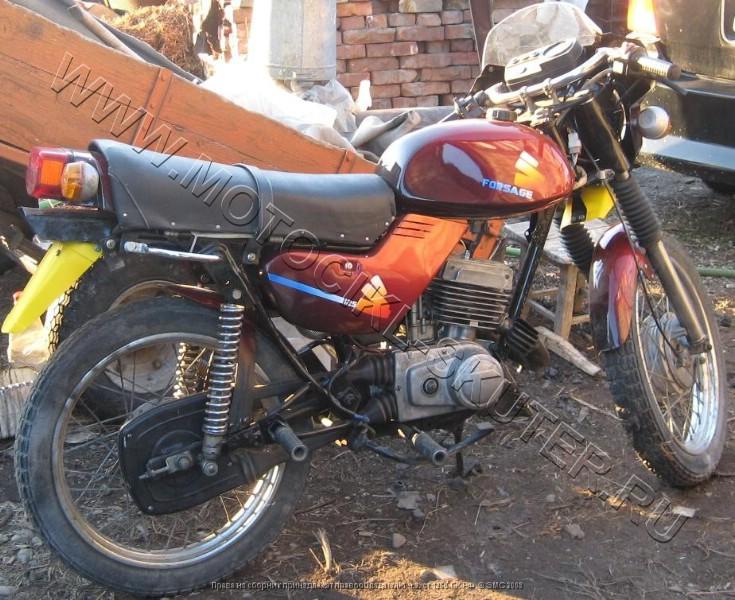 Тюнинг мотоцикла Минск своими руками