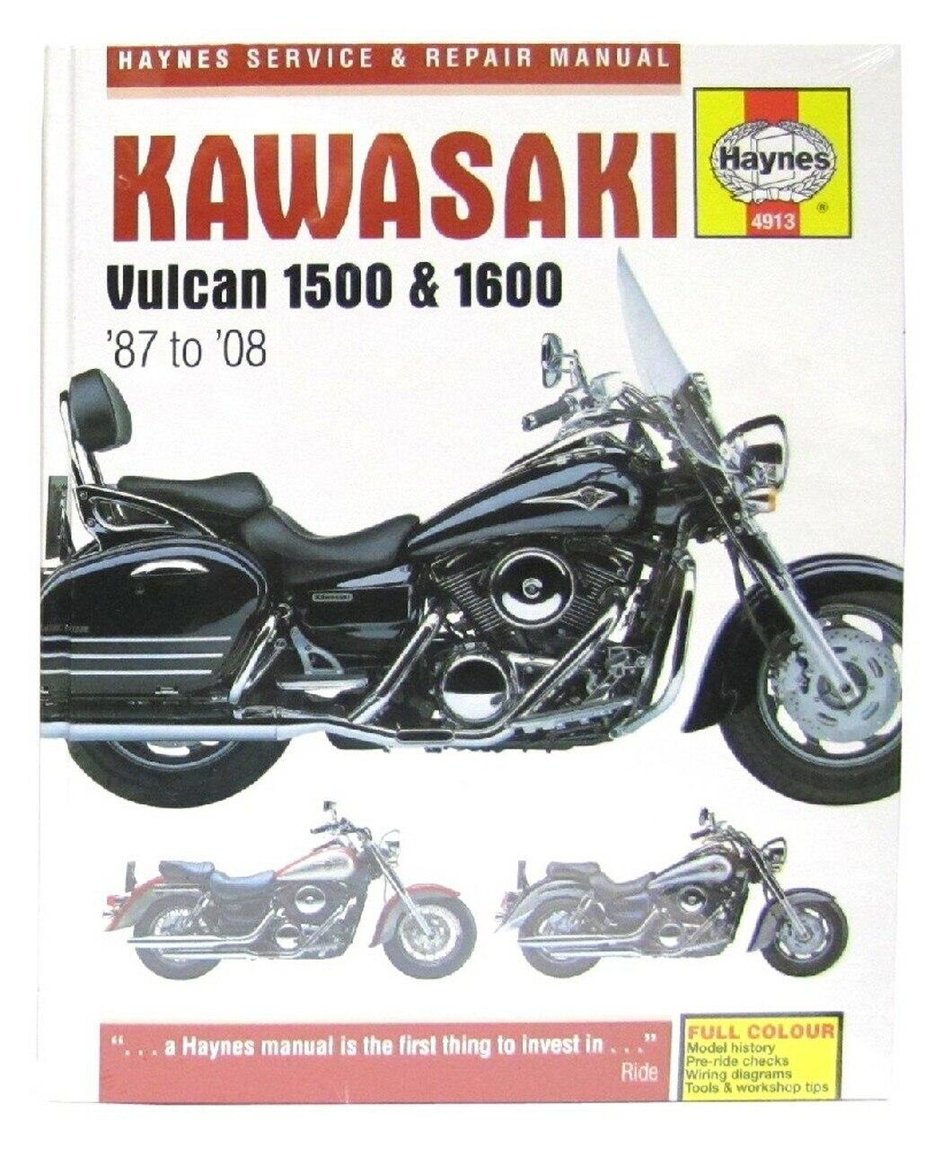 Мануалы и документация для Kawasaki VN1700 Vulcan