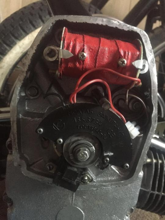 Как настраивается электронное зажигание на мотоциклах Урал