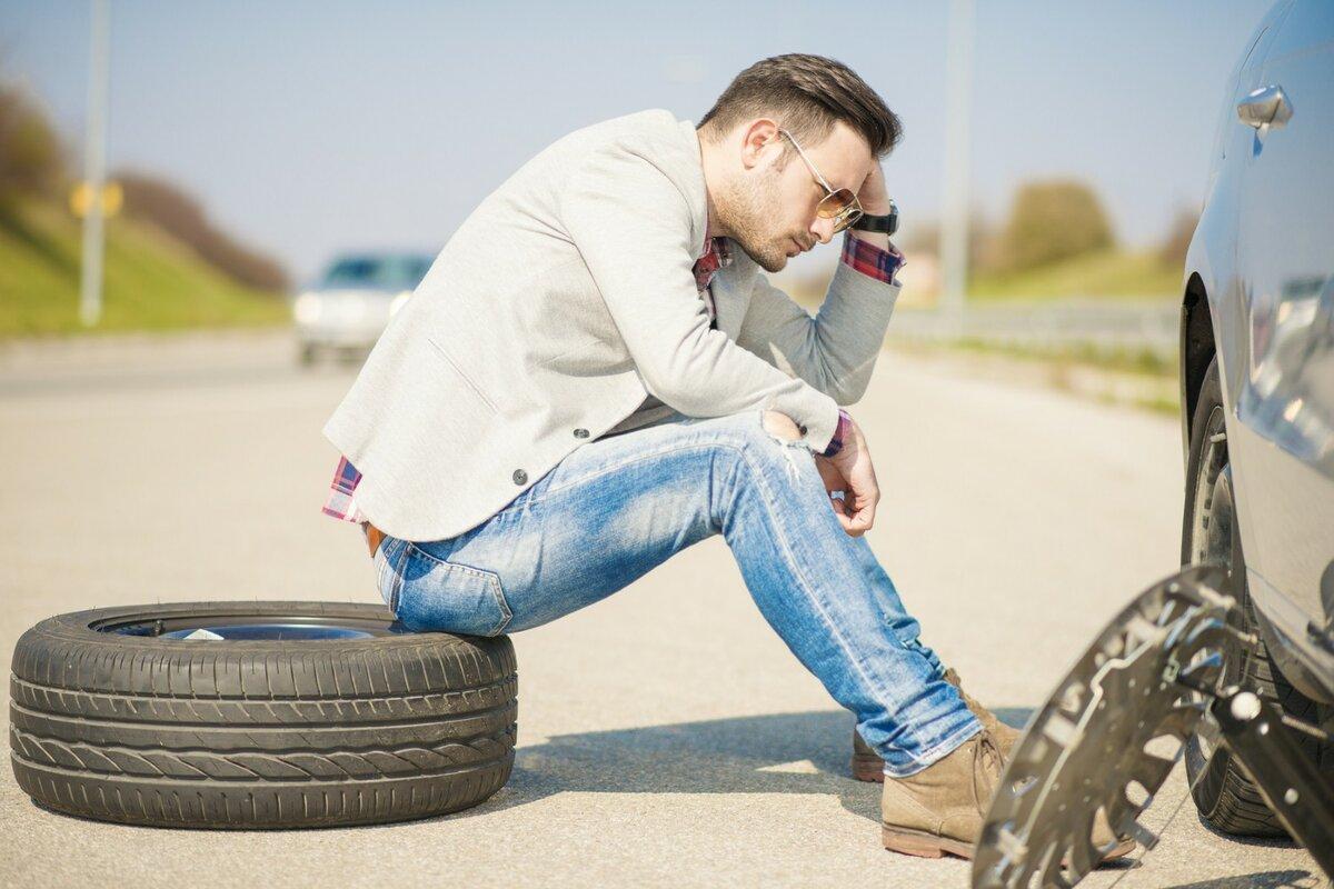 Быстрый ремонт бескамерного колеса квадроцикла своими руками в полевых условиях