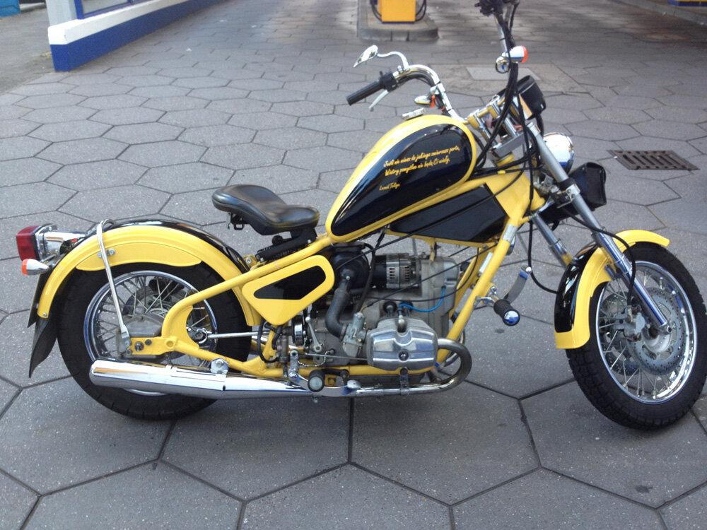 Урал Кобра (Ural Cobra) – стильный байк малосерийного производства