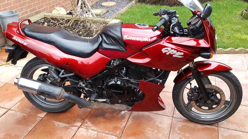 Тест-драйв мотоцикла Kawasaki GPZ500S