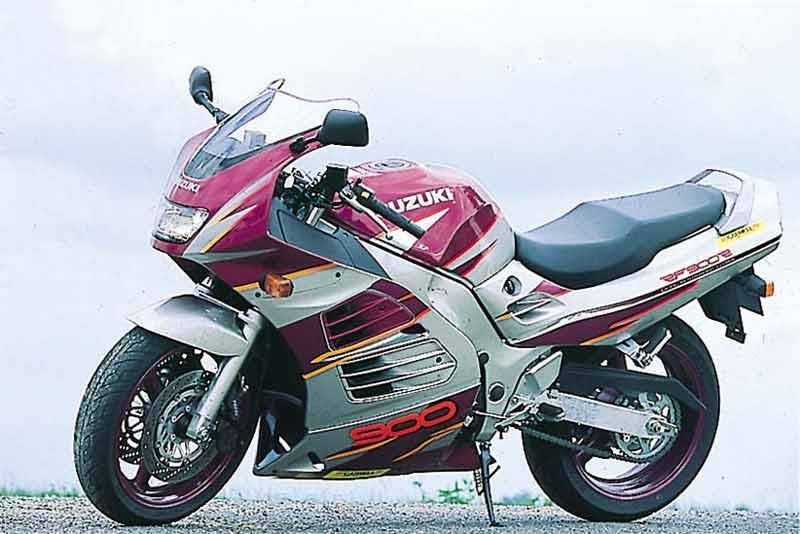 Мануалы и документация для Suzuki RF 900 (RF900R)