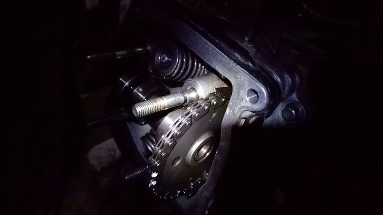 Замена цепи ГРМ скутера с подробным описанием