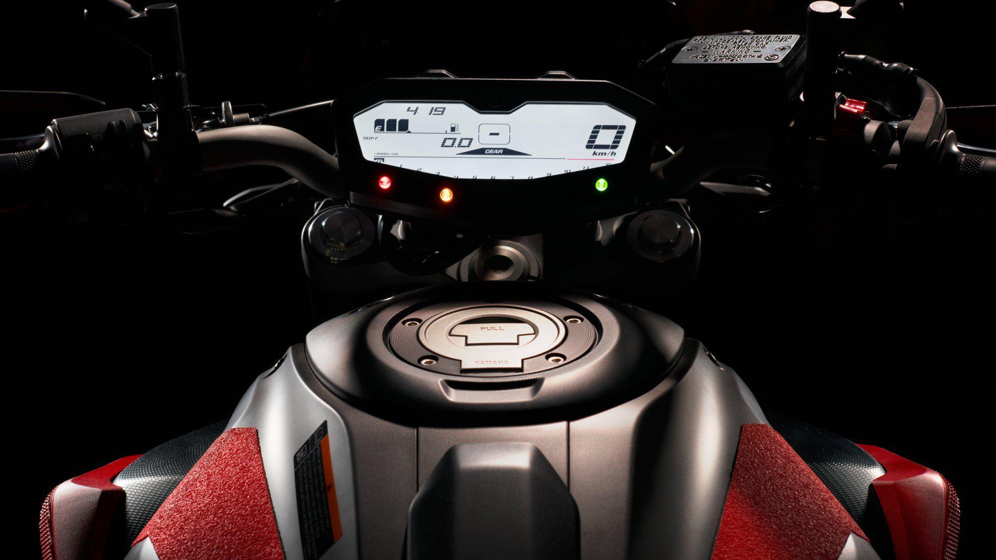 Тест-драйв мотоцикла Yamaha MT-07