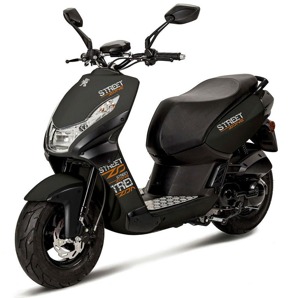 Молодежный скутер из Франции — Peugeot Streetzone 50 2T