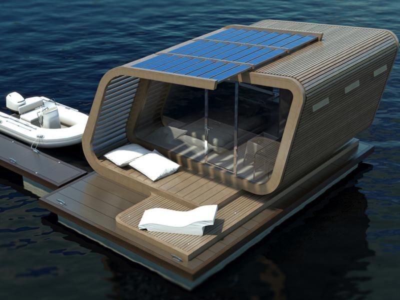 Лодка с отсеками плавучести открытого типа