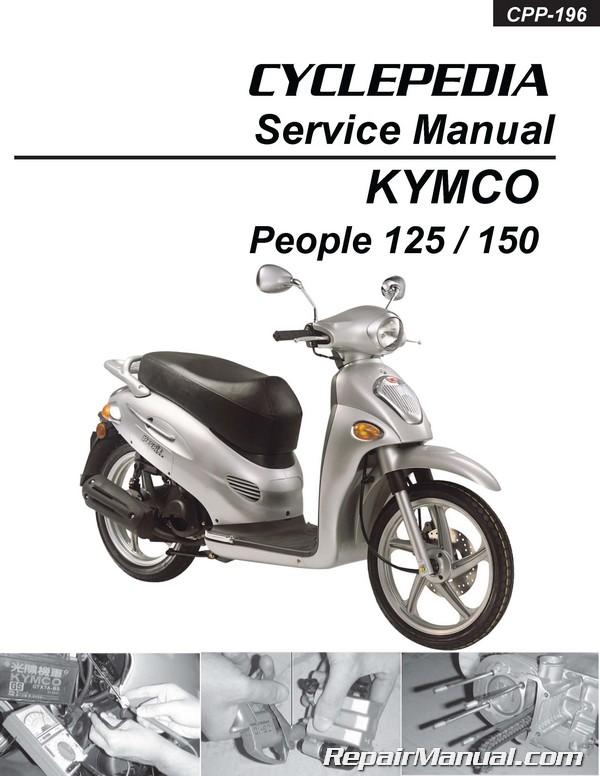 Инструкция по эксплуатации и ремонту скутера Kymco Yup 50