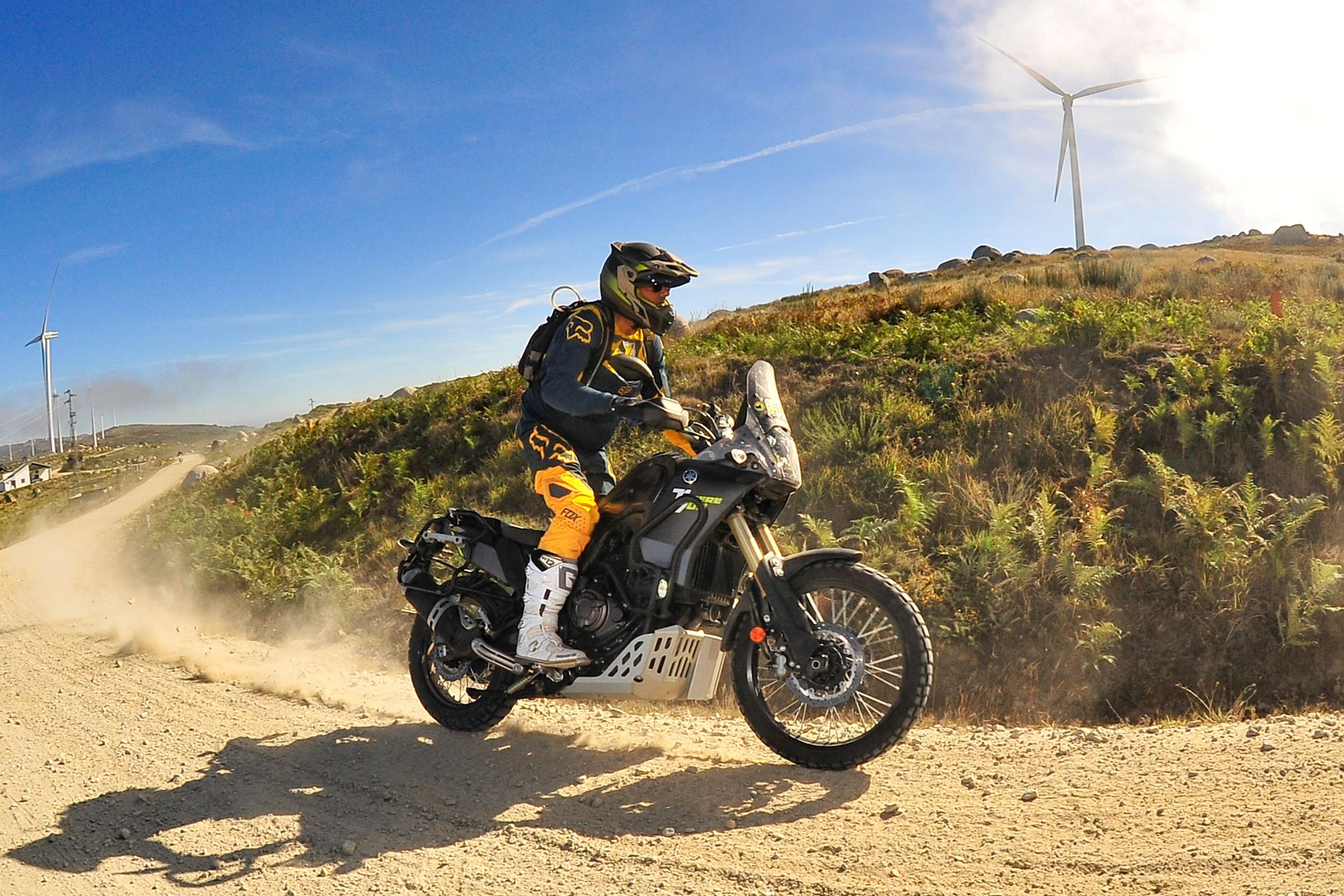 Тест-драйв мотоцикла Yamaha XTZ660 Tenere