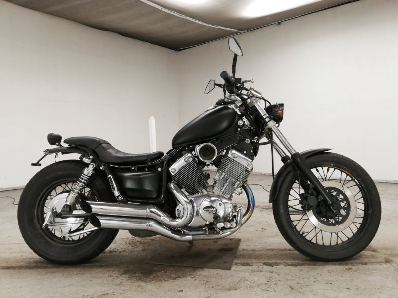 Мотоцикл Yamaha Virago (Ямаха Вираго) 400 — обзор