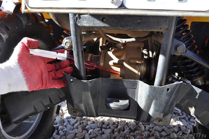 Какое масло лить в редуктор квадроцикла | авто брянск