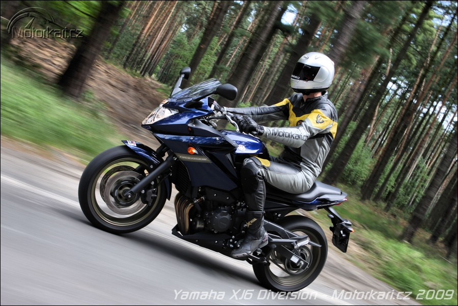 Тест-драйв мотоцикла Yamaha XJ6 Diversion