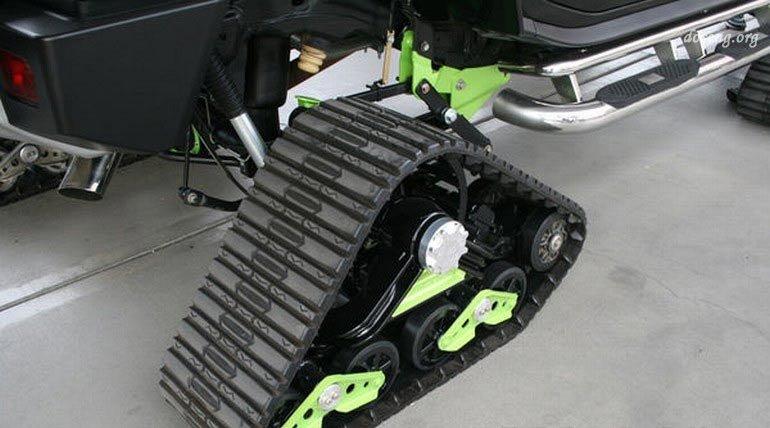 Гусеницы для квадроцикла: некоторые модели и технические характеристики
