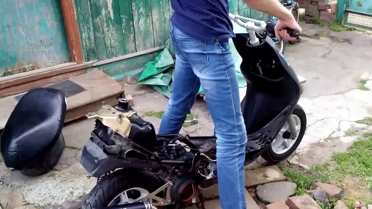 Почему скутер плохо набирает обороты