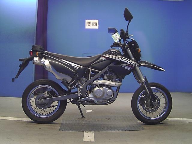 Мотоцикл Kawasaki D-Tracker 150