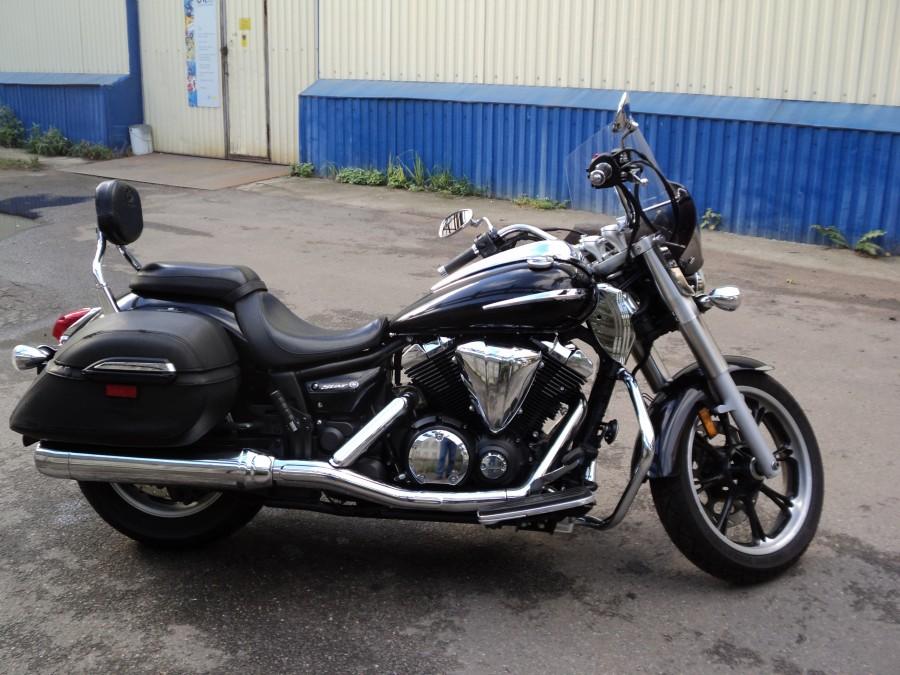 Тест-драйв мотоцикла Yamaha XVS950