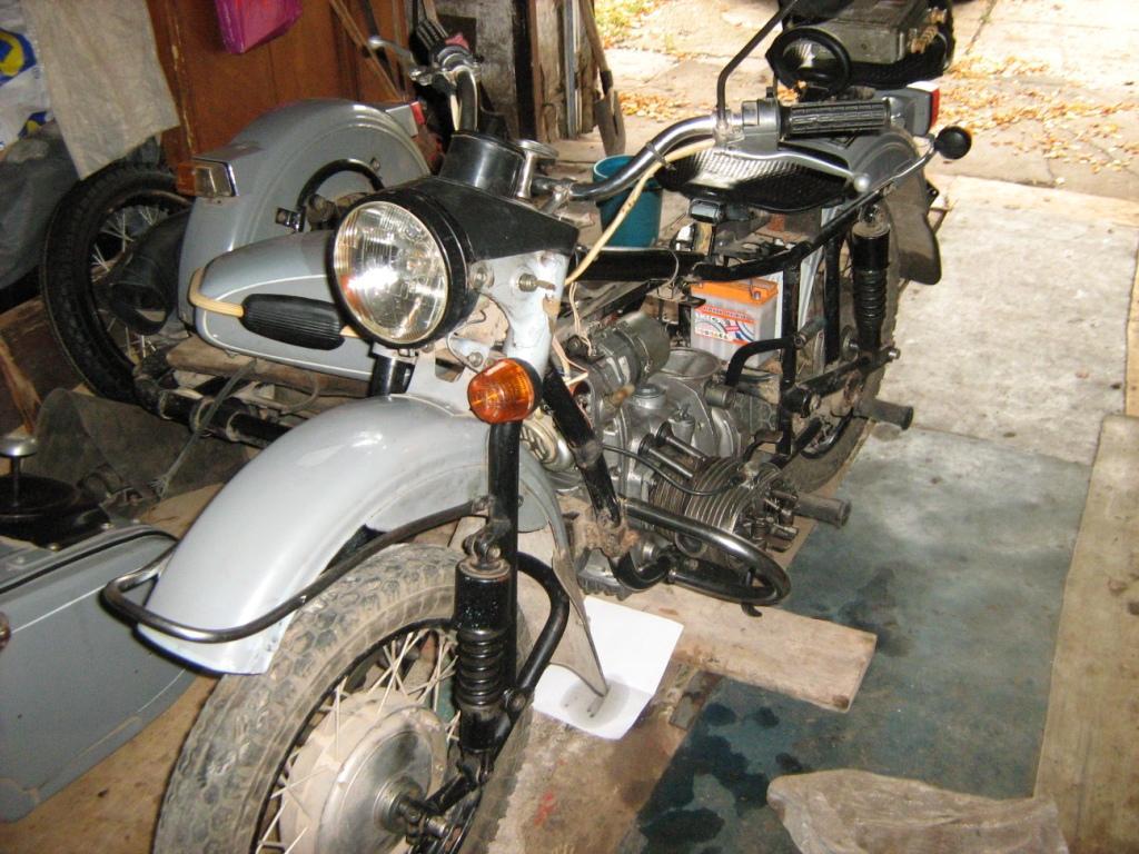 Ремонт мотоцикла Урал