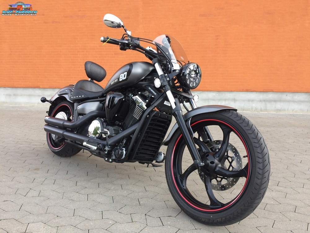 Тест-драйв мотоцикла Yamaha XVS1300 Custom (Stryker)