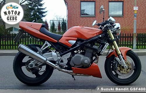 Тест-драйв мотоцикла Suzuki GSF400 Bandit