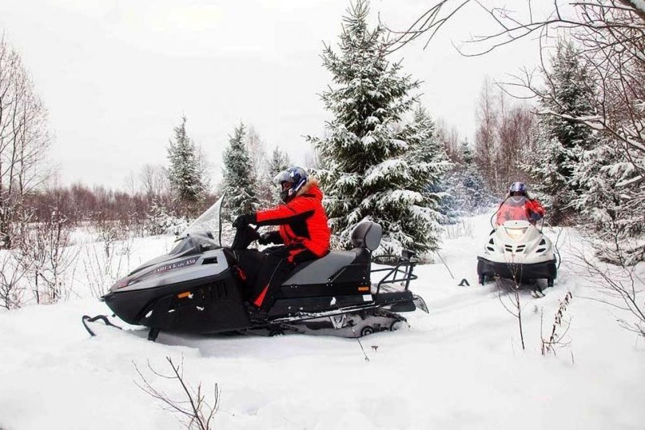 Мощный и экономичный снегоход Барс 850