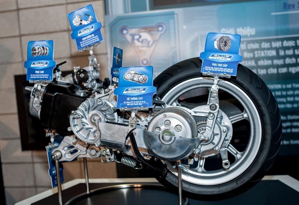BLUE CORE – современный экономичный двигатель для скутеров Yamaha
