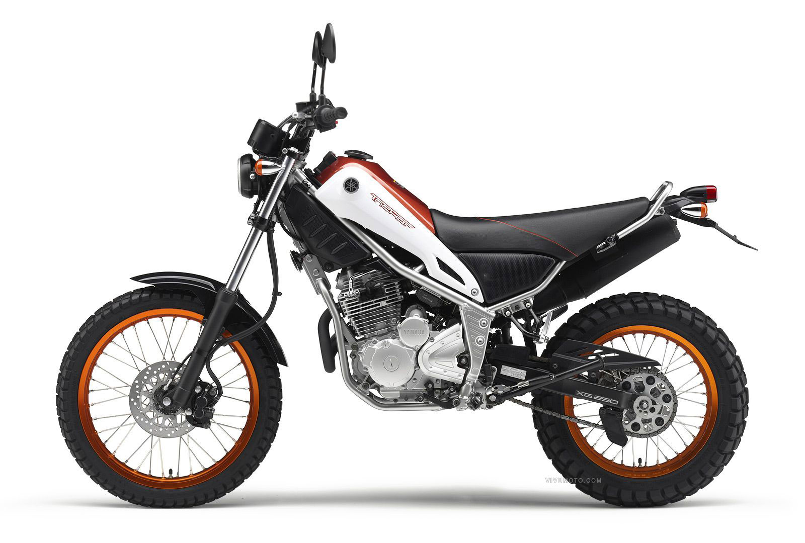 Yamaha Tricker (XG) 250 – обзор дорожного мотоцикла