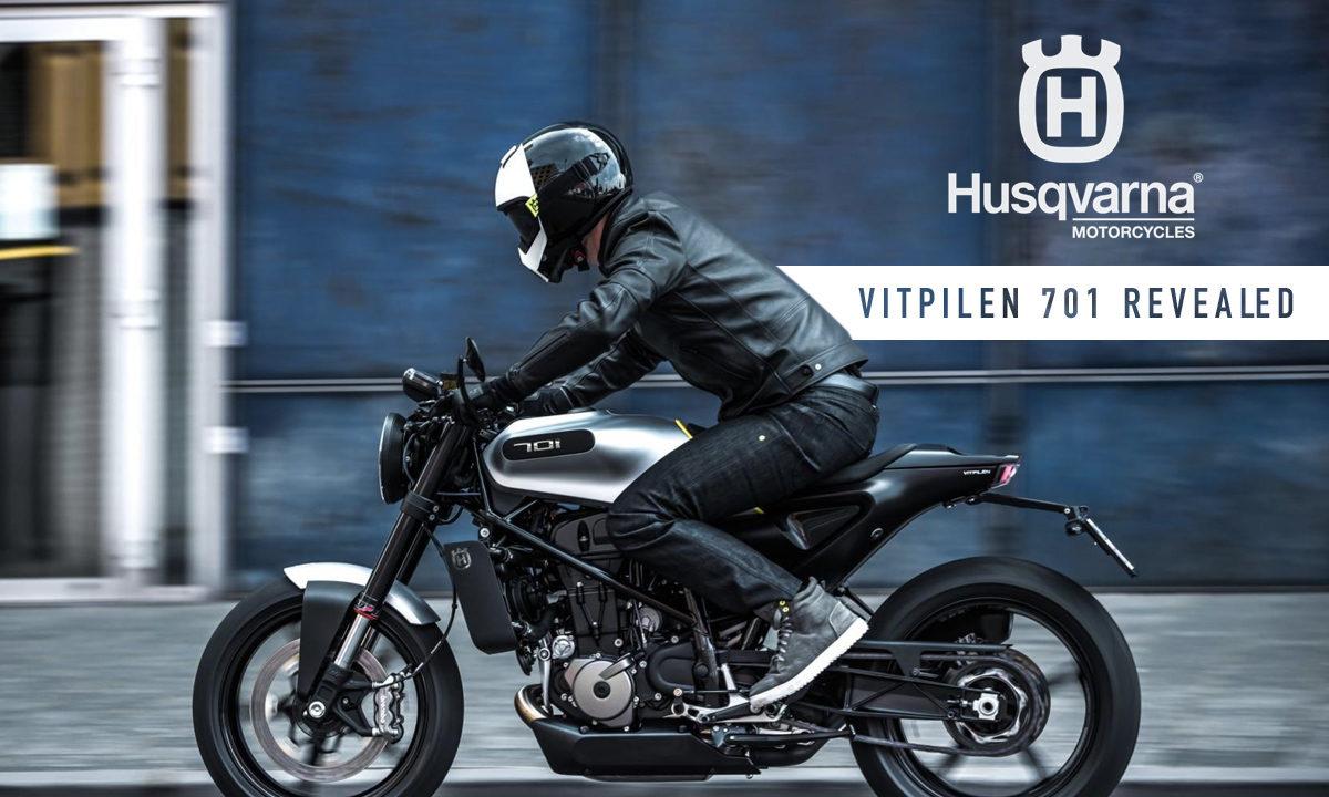 """Прогрессивная дизайнерская """"одностволка"""" Husqvarna Vitpilen 701"""