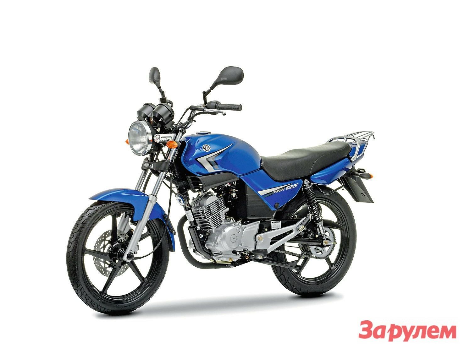 Yamaha YBR 125 великолепно подходит для начинающих мотоциклистов