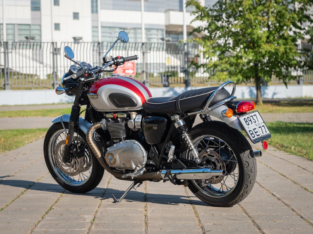 Мотоцикл Triumph T120 Bonneville 650 Police (1966)